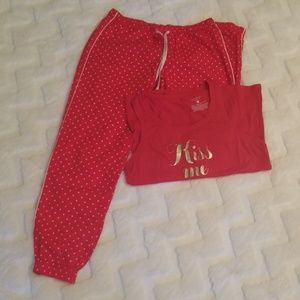 Cute Victoria secret pajamas set ❤💜❤💜